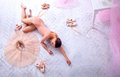 Professional Ballet Dancer Resting After The Performance. Stock Image - 90997521