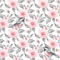 Spring Flowers And Birds Seamless Pattern Royalty Free Stock Photography - 90998507