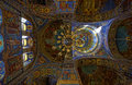 Interior Of The Cathedral Of The Resurrection Of Christ In Saint Petersburg, Russia. Church Of The Savior On Blood Royalty Free Stock Photography - 91010107