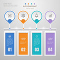 Infographics Design Template With Icons, Process Diagram, Vector Royalty Free Stock Photography - 91040777
