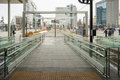 Gate Of Tram In The Toyama Station In Japan Stock Photo - 91041170