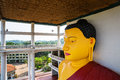 Sri Lanka Attractions, Buddha Statue In Old Temple Stock Image - 91064341