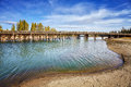 Fishing Bridge In Yellowstone National Park, USA. Stock Images - 91078284