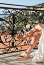 Relaxation On The Balcony Stock Image - 9118151