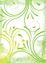 Green Floral Background Stock Photo - 9118390