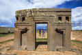 Tiwanaku Heritage In Bolivia Royalty Free Stock Image - 91102786
