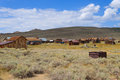 Bodie Ghost Town Royalty Free Stock Images - 91122329