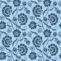 Vector Flower Seamless Pattern Background. Elegant Texture For Backgrounds. Classical Luxury Old Fashioned Floral Royalty Free Stock Image - 91130896