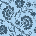 Vector Flower Seamless Pattern Element. Elegant Texture For Backgrounds. Classical Luxury Old Fashioned Floral Ornament Royalty Free Stock Images - 91130899