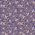 Vector Flower Seamless Pattern Background. Elegant Texture For Backgrounds. Classical Luxury Old Fashioned Floral Royalty Free Stock Images - 91131189