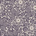 Vector Flower Seamless Pattern Element. Elegant Texture For Backgrounds. Classical Luxury Old Fashioned Floral Ornament Stock Image - 91131911