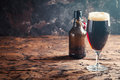 Glass Of Dark Beer Royalty Free Stock Photo - 91167135