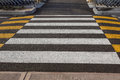 Zebra Traffic Walk Way In The City Royalty Free Stock Images - 91182359