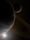 Planet In Deep Space Stock Photos - 91190333