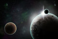 Planets In Space Royalty Free Stock Photo - 91191105