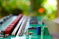 Old Circuit Boards Royalty Free Stock Photo - 91192115