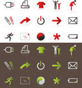 Icons Royalty Free Stock Photography - 9124977