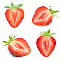 Strawberry  On White Royalty Free Stock Photo - 91211985