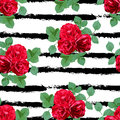 Floral Seamless Pattern Stock Image - 91261811