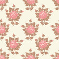 Vector Flower Seamless Pattern Background. Elegant Texture For Backgrounds. Classical Luxury Old Fashioned Floral Royalty Free Stock Images - 91280229