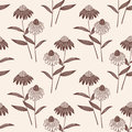 Vector Flower Seamless Pattern Background. Elegant Texture For Backgrounds. Classical Luxury Old Fashioned Floral Royalty Free Stock Photography - 91280837