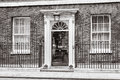 Entrance Door Of 10 Downing Street In London Stock Photography - 91282992