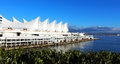 Canada Place Port At Vancouver Royalty Free Stock Photo - 91302525