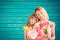 Spring Holiday. Mother`s Day Concept Royalty Free Stock Photos - 91312178