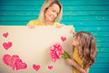 Spring Holiday. Mother`s Day Concept Stock Images - 91312444