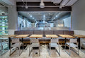 Restaurant In Modern Style Stock Images - 91363314