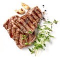Grilled Beef Steak Stock Images - 91370834