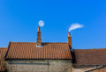 Chimney Roof Line Stock Images - 91373994