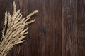 Wheat On A Wooden Background. Stock Images - 91382414