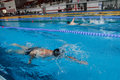 Swimming Competition Stock Images - 91392114