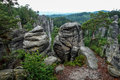 Rock Pillar Nature Park. View From The Mountain Tops. Stock Photo - 91414940