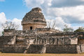 The Observatory At Chichen Itza, Mexico Stock Images - 91428684