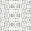 Vector Monochrome Pattern, Abstract Chain Black Lines On White Background, Subtle Vertical Chains. Design Element For Prints Royalty Free Stock Images - 91480869