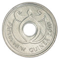 One Papua New Guinean Kina Coin Stock Images - 91499464