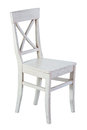 White Wooden Chair Isolated Royalty Free Stock Images - 91546069