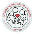 International Day Of Families. May 15. Family Icon. Royalty Free Stock Images - 91548669