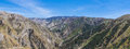 Valley Through Angeles National Forest Stock Images - 91579184