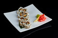 Sushi Roll With Spice Eel Fish Royalty Free Stock Images - 91610079