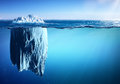 Iceberg Floating On Sea - Appearance And Global Warming Royalty Free Stock Photo - 91623375