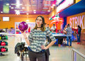 Time To Bowl Royalty Free Stock Photography - 91629237
