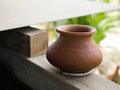 WATER POT MADE OF CERAMIC Royalty Free Stock Image - 91659656