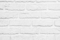 White Brick Wall Exterior For Background Stock Photo - 91688950