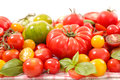 Assorted Colorful Tomatoes Royalty Free Stock Photo - 91700495