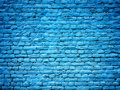 Blue Brick Wall Background Texture For Design Royalty Free Stock Photo - 91753385