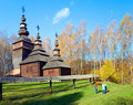 Wood Church Royalty Free Stock Photography - 9181707
