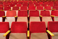 Seats Of Auditorium Royalty Free Stock Image - 9189836